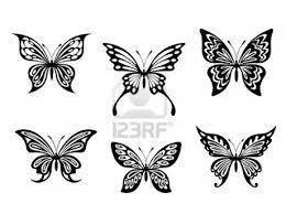butterflies tattoos designs