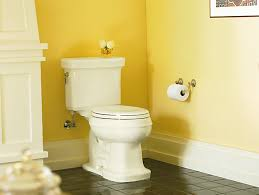 Elongated Comfort Height Toilet Kohler K 3827 Bancroft Comfort Height Elongated 1 28 Gpf Toilet