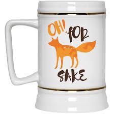 fox mug for fox sake mug coffee tea