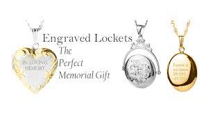 custom engraved lockets engraved lockets the memorial gift ti