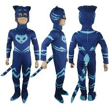 Halloween Gifts For Boys by Kids Boys Pj Masks Catboy Connor Cosplay Costume Halloween Costume