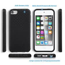 ipod touch 5th generation black friday ulak hybrid shockproof hard rugged slick armor case for apple