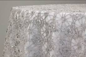 silver lace table overlay sale silver or gold and sequence chain lace table overlay
