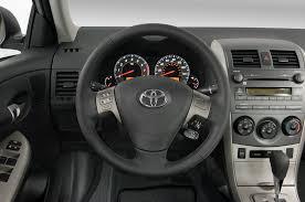 toyota steering wheel 2011 toyota corolla 2010 los angeles auto show automobile magazine