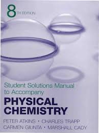 atkins physical chemistry 8th ed solutions manual