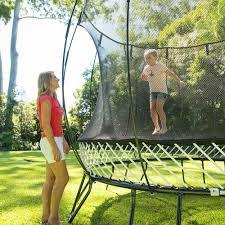 trampoline springfree trampoline backyard trampoline