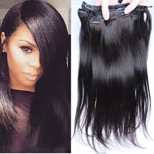 human hair clip in extensions clip in human hair extensions 6a hair