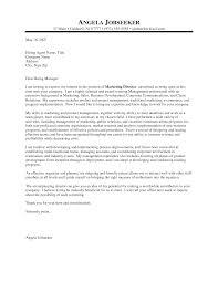 cover letter sample for senior marketing executive