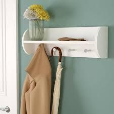 charlton home traditional wall mounted coat rack u0026 reviews wayfair