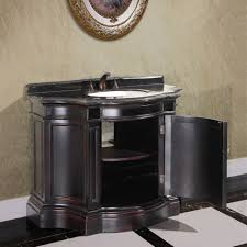 legion 43 inch vintage single sink bathroom vanity wb 2543l in