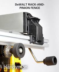dewalt table saw rip fence extension best portable table saw reviews portable table fences and easy