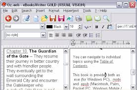creating ebooks ebookswriter the software for creating electronic books create