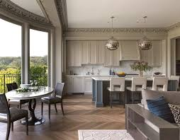 Revere Kitchen Sinks by Pewter Kitchen Transitional With Calacatta Marble Countertop