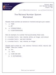 rational u0026 irrational numbers number system numbers rational