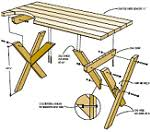 Picnic Table Plans Free Picnic Table Building Plans How To Diy Projects