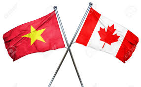 Viet Nam Flag Vietnam Flag Combined With Canada Flag Stock Photo Picture And