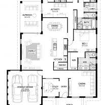 4 bedroom 3 bath house plans home architecture stunning bedroom houses building plans