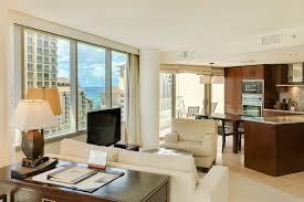 trump living room trump waikiki hotel 13th floor 1 bdrm suite villaway