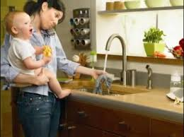 Touch Free Kitchen Faucets by Danze Parma Kitchen Faucets Hands Free Danze Parma