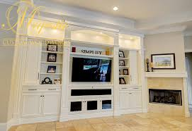 Living Room Center by White Living Room Entertainment Center Majestic Custom Woodworks
