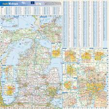 Maps Of Michigan Large Detailed Roads And Highways Map Of Michigan State With