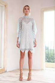 shift wedding dress high neck shift dress grace lace