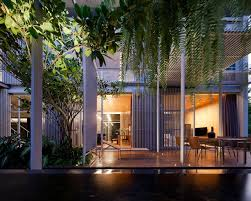 bangkok house with a unique take on privacy