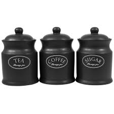 kitchen inspirations black canister sets for kitchen black