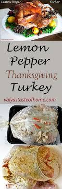 lemon pepper thanksgiving turkey recipe turkey recipes lemon