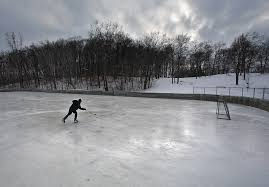 outdoor rinks in state of hockey forlorn forgotten disappearing