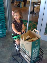 whole foods the one with the shopping cart smarty pants mama