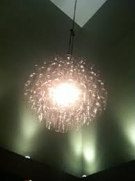 Wine Glass Chandelier Diy Wine Glass Chandelier In The Library Picture Of Airfield Estates