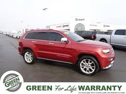 green jeep grand cherokee used 2014 jeep grand cherokee for sale in springfield il