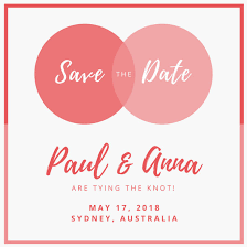 save the date invites customize 134 save the date invitation templates online canva