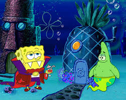 blue halloween background image spongebob halloween costumes wallpaper desktop background