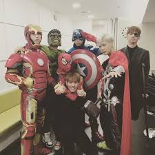 halloween costumes news got7 get into the halloween spirit for u0027music bank u0027 rehearsal