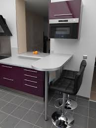 plan de travail snack cuisine plan chambre avec salle de bain 6 cuisine d233cor aubergine