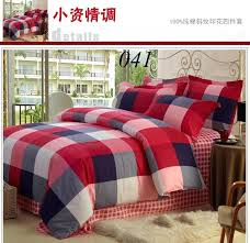 Twin Plaid Bedding by Plaid Comforters And Quilts Plaid Twin Bedspread Izod Fairfax