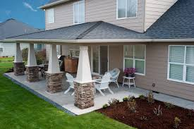 Small Backyard Covered Patio Ideas Download Patio Covering Options Garden Design