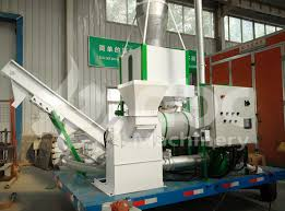 wood pelletising machine plant manufactured and exported to