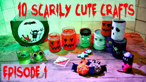 Halloween Recycled Crafts by 10 Halloween Diys Cute U0026 Easy Crafts Episode 1 Youtube