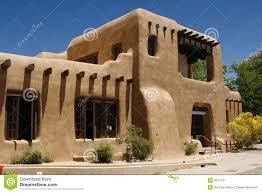 pueblo style barred dormers stock image image 9574741