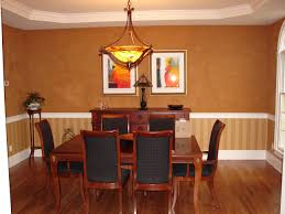 painting ideas for dining room with chair rail homes design