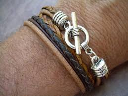 Handmade Mens Bracelets - 35 most trendy and cool leather bracelets for