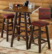 rustic pub table and chairs charming rustic bistro table pub set wood sets on dining room pub