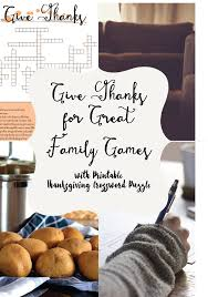 thanksgiving games printable give thanks for great family games with printable thanksgiving