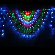 decoration lights for party new year 2mx0 8m ac110 220v led curtain string light cristmas