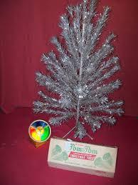 vintage aluminum christmas tree vintage aluminum pom pom christmas tree yahoo image search results
