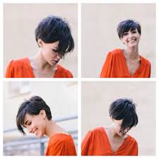 hairstyles short on an angle towards face and back this is a good pic to bring to the hairdresser to show different