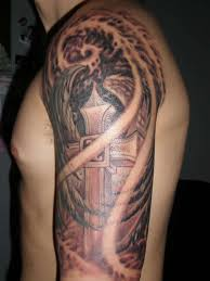 with wings tattoo